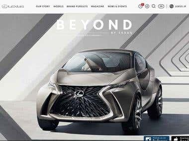 Lexus international website