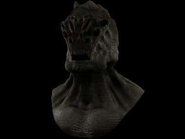 Alien (3D Sculpt)