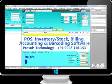 Invento Inventory/POS/Barcoding/Billing