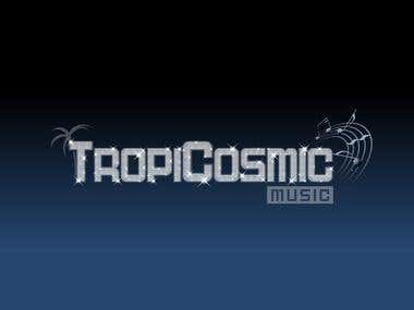 Tropicosmic Logo Creation