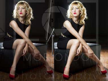 Beauty editing