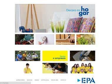 Ferreteria EPA - Website