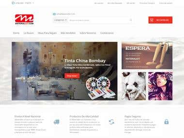 Ecommerce Website Magento