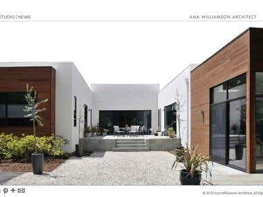 AWA ARCHITECT WEBSITE