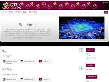 Worpress Website
