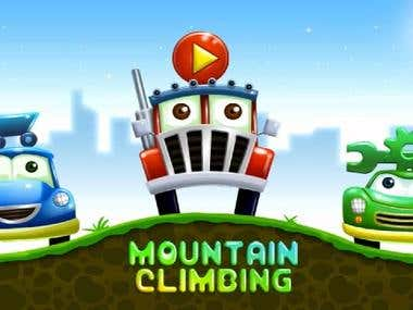 Mountain Up Hill Climb Race