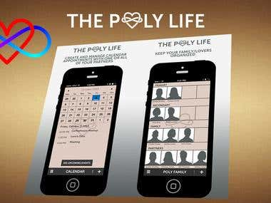 The Poly Life iOS social App