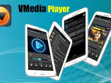 VMedia Player Android App