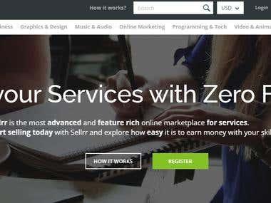 Service based marketplace