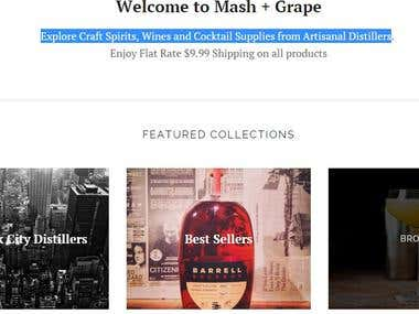 Marketplace for Liquor