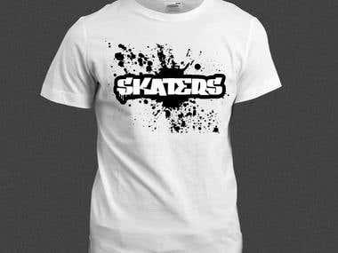 Skaters tshirt