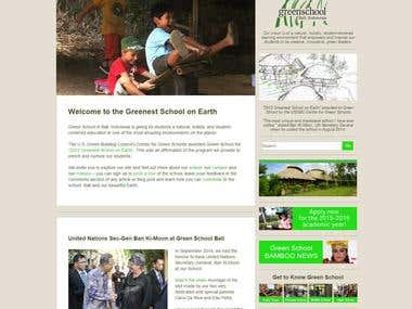 Information portal greenschool