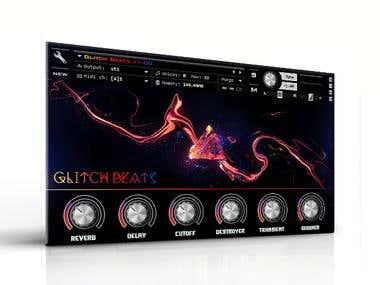 Glitch Beats GUI 1