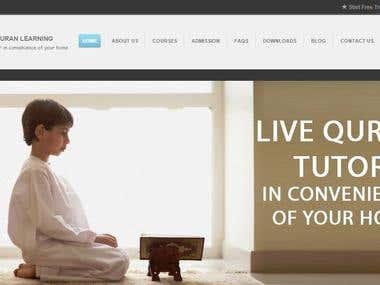 Al Falah Quran Academy Website Application