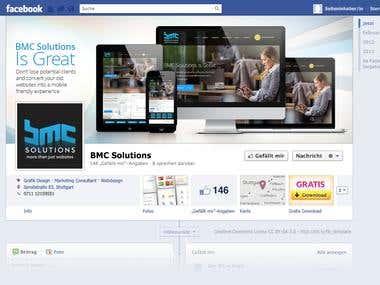 BMC - Facebook Cover Page
