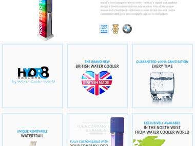 Website Design for Water Cooler World