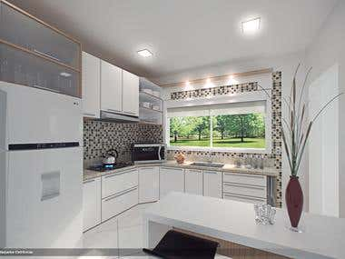 Planned Kitchen