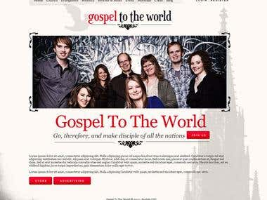 GoSpel To The World - Homepage