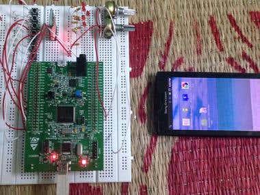 Android bluetooth HMI