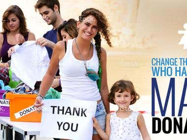 Charity - Homepage Banner