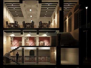 Renovation and Interior Design of a colonial era building