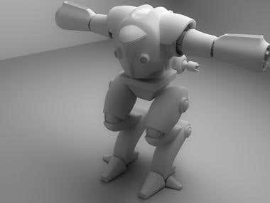 fighter robot