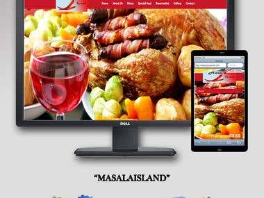 Masala Island || WordPress Development
