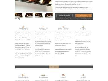 UI/UX design of Magento based Ecommerce Website