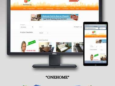One Home || Website Development