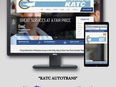 katc.com.sg || WordPress Development