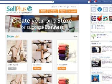 Sell Store On Facebook