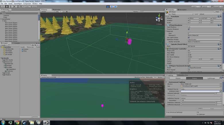 3D Map generator (Biomes, Flora, Lakes) UNITY3D  | Freelancer