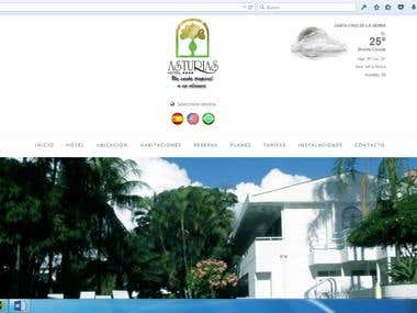 Hotel Asturias SRL WebSite