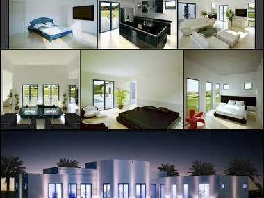 3D achitectural rendering