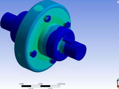 Design modification of Flange Coupling