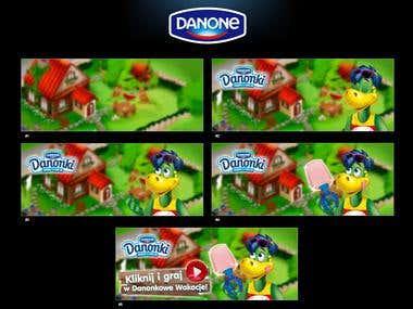 Danone Banners