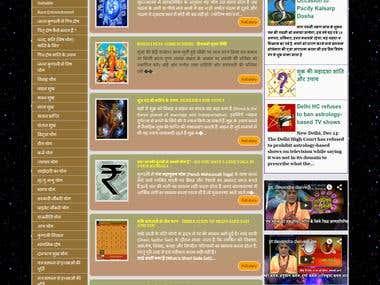 A jyotish website