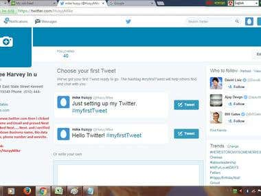 Directory listing in twitter.com