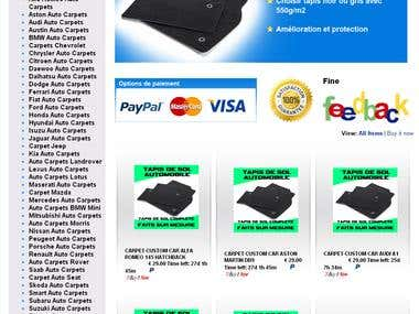 tapis auto ebay france