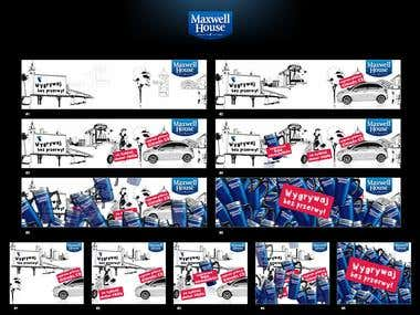 Maxwell House  Banners