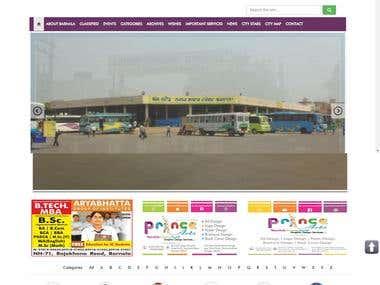 A responsive web portal