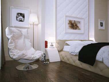 3D Bedroom RUSSIA