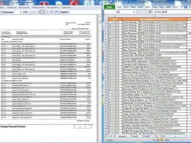 Converting tables from PDF documents to Excel
