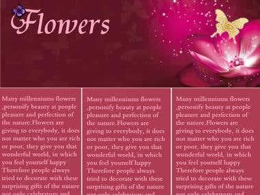 Website for Flowers