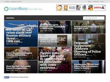 Wordpresss - News Aggregation