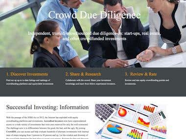 Crowdfunding Analysis Platform