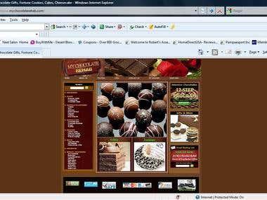My Chocolate Rehab Website