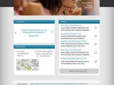 Epsom College Web-Design
