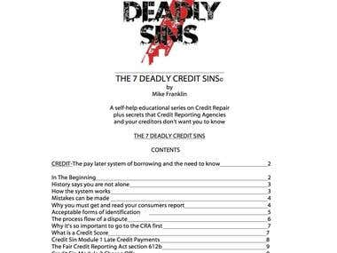 7 Deadly Credit Sins e-book