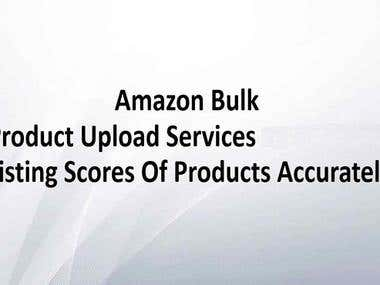 upload complete product information to your ecommerce store